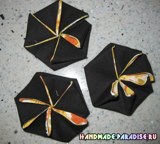 Летние сумочки в технике оригами