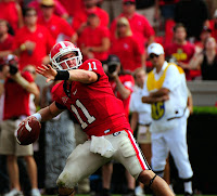 Aaron Murray sprains his ankle.