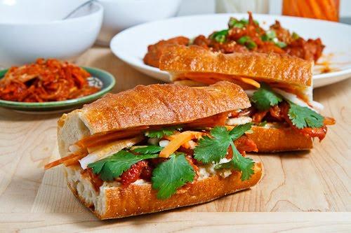 Spicy Pork Bulgogi Banh Mi on Closet Cooking