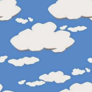Imprimibles de Angry birds con Nubes  para imprimir gratis.