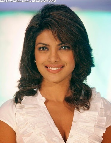 Priyanka Chopra hottest unseen redhot pics in white tight top cleavage exposed