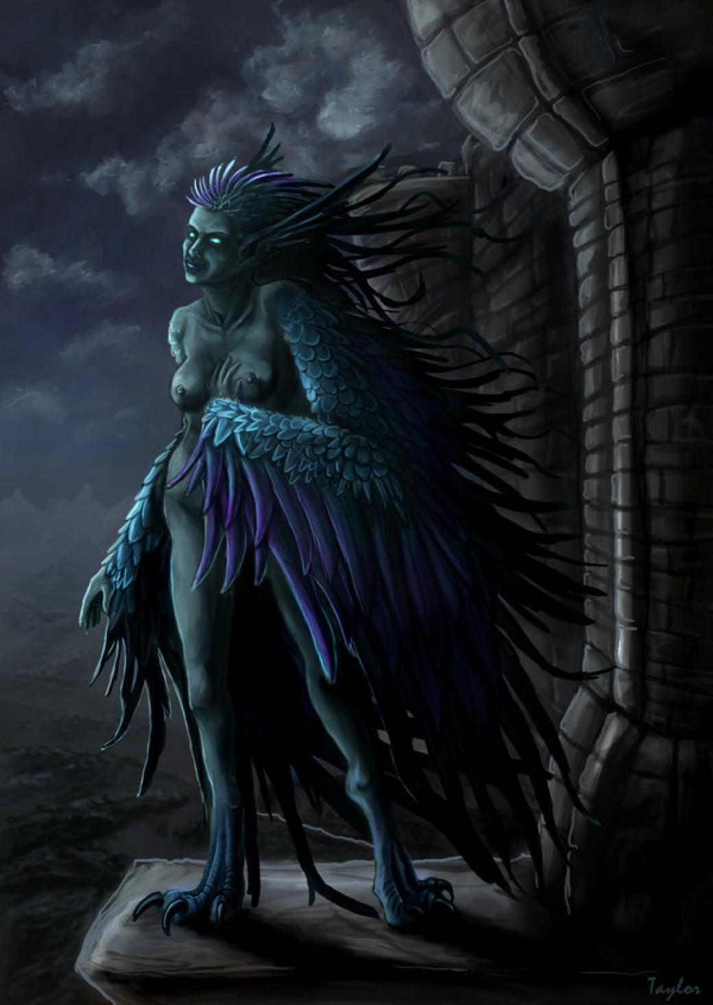 Dark Harpy por Ruth-Tay