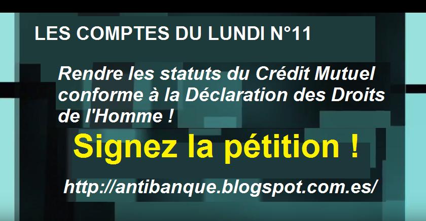 Signez notre pétition contre l'exclusion des clients des banques