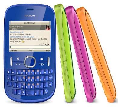 new Nokia Asha 200 Touchscreen Phone