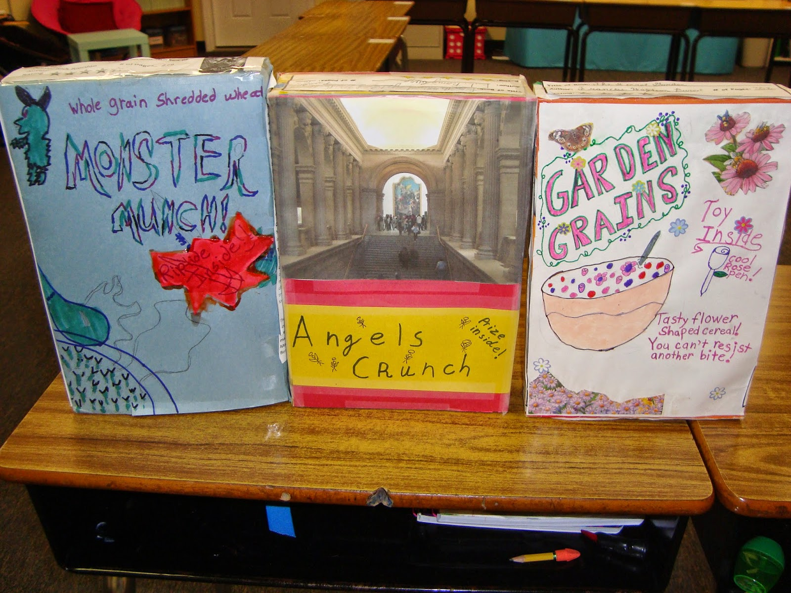 5th and fabulous cereal box book reports 2014 tuesday september 30 2014 ccuart Image collections