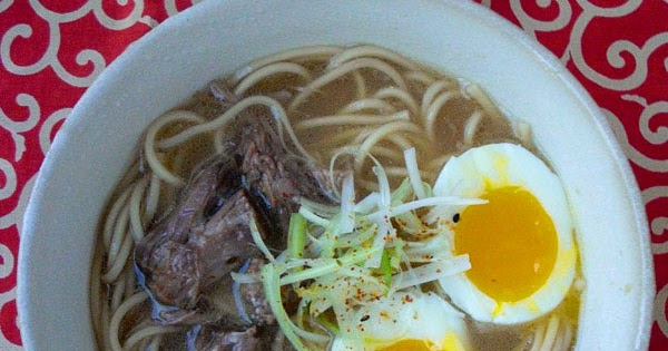 Japanese Recipes] Oxtail Ramen - All Asian Recipes For You