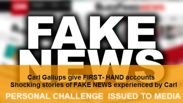 FAKE NEWS:  Carl Gallups/Sandy Hook?