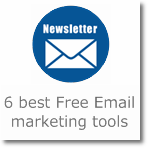 Free Email Marketing tools/Newsletter sending services