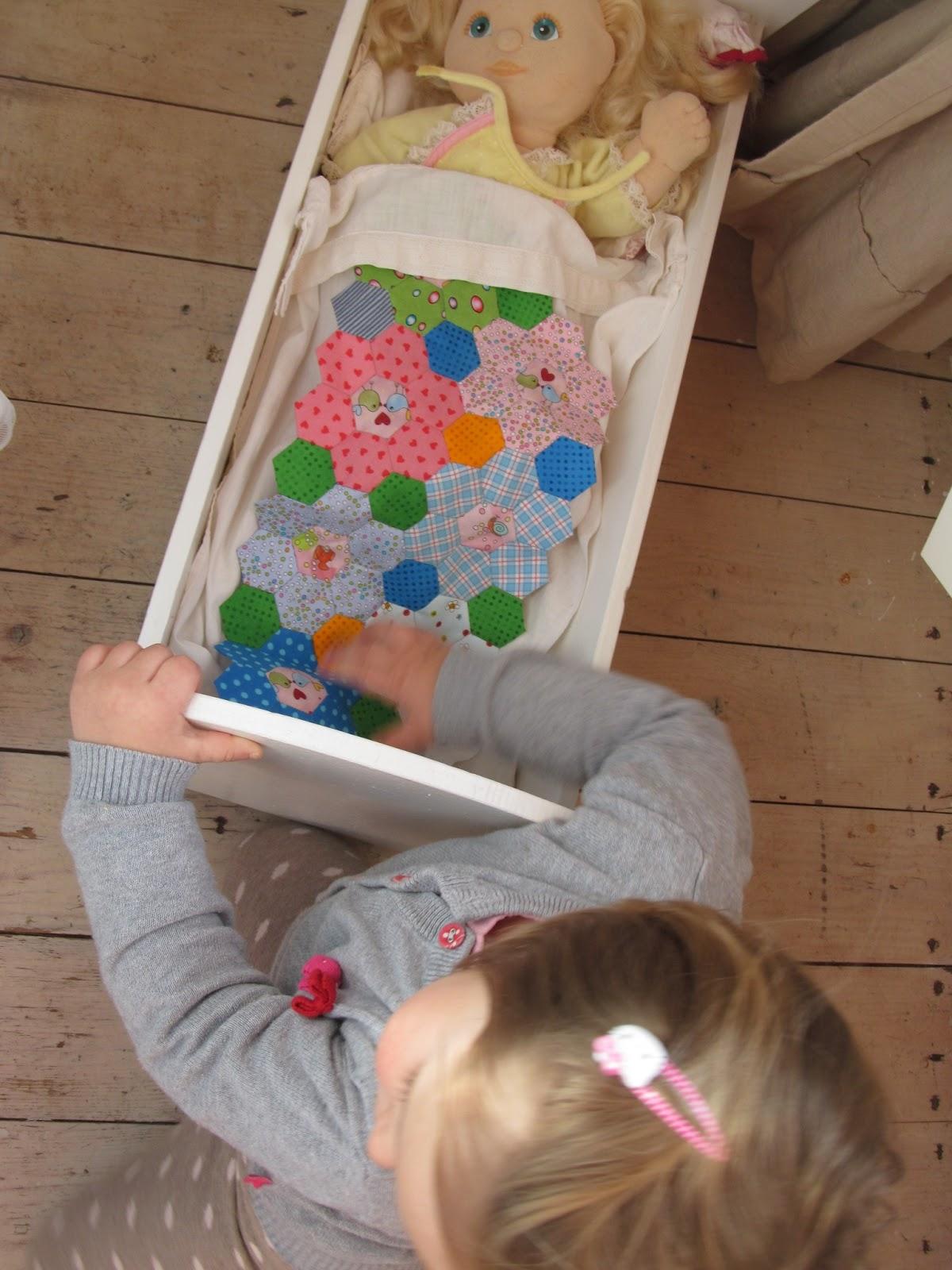 The Quiltlodge Lekker Op Weg Met De Hexagonnetjes