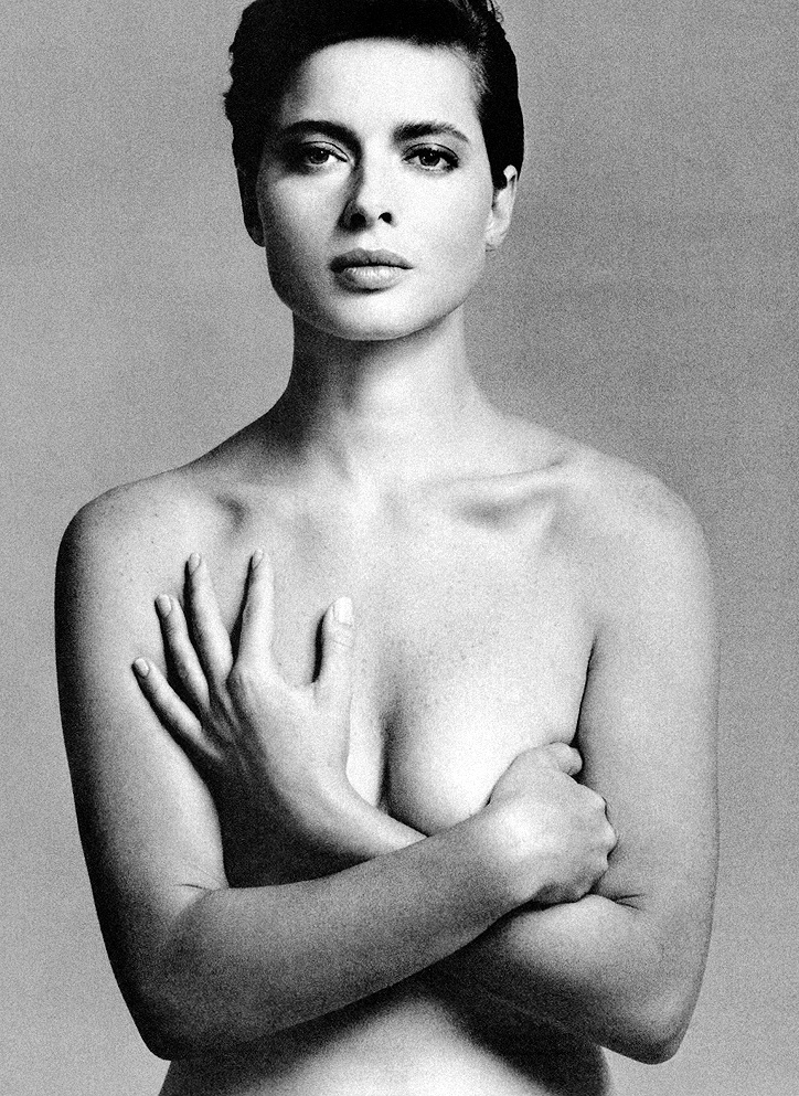 Isabella Rossellini photographed by Richard Avedon for Vogue US 1982 / via fashioned by love british fashion blog