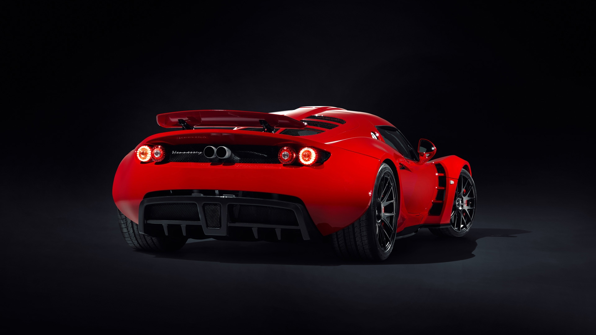 hennessey venom gt rear high definition wallpapers hd