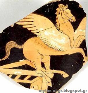 Pegasus,Flying horse,greek mythology, Perseus