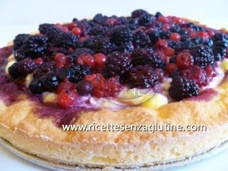 Crostata di Frutta Senza Glutine