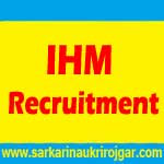 IHM Recruitment
