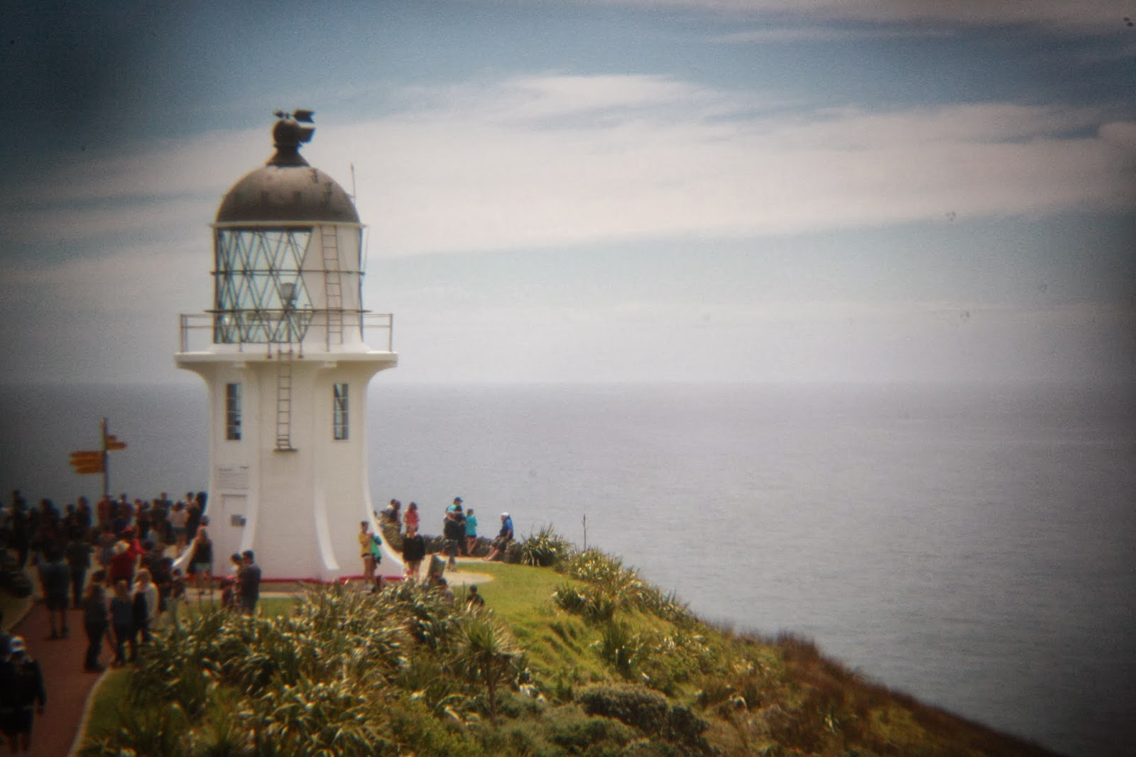 That's the Cape Reinga light house.