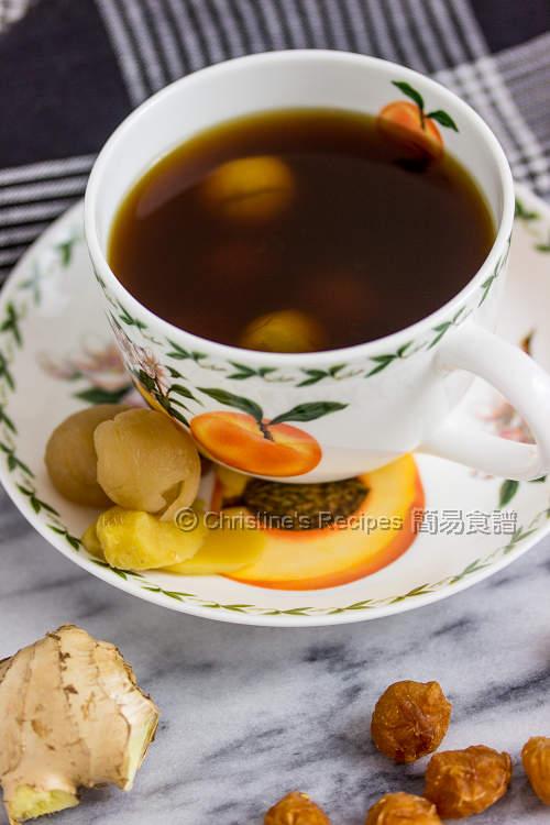 Ginger Brown Sugar Tea01