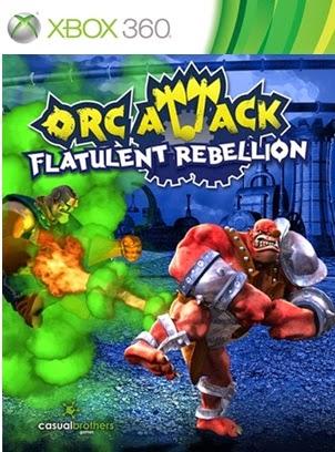 Orc Attack Flatulent Rebellion Xbox 360 XBLA