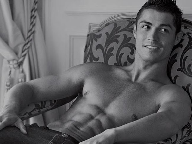 Model good looks ... Cristiano Ronaldo's good looks and interest in the finer things in life has long meant people have speculated about his sexuality. Picture: APSource:Supplied