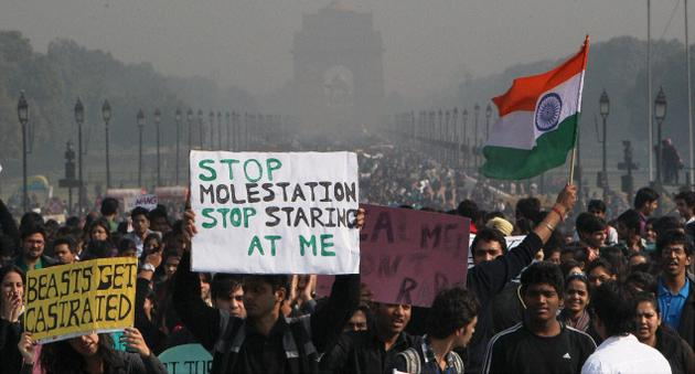 Damini Justice Protest India Gate