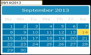 jQuery Datepicker, Easiest Way to Input Date