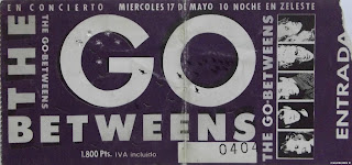 entrada de concierto de the go betweens