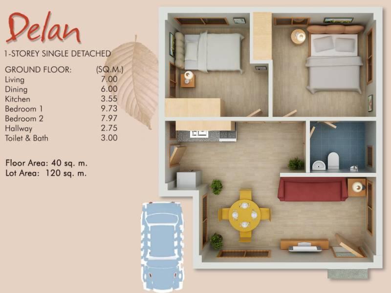 Ajoya subdivision cordova lapu lapu city cebu for Modern house design for 60 sqm lot