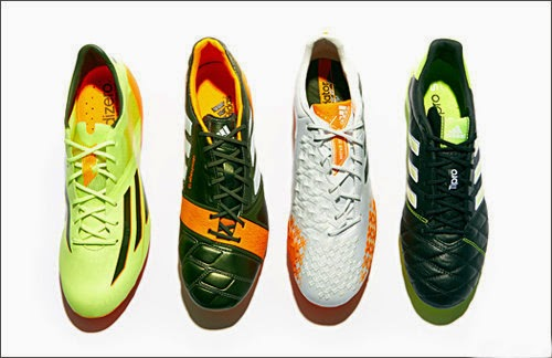 New adidas earth pack to world cup 2014