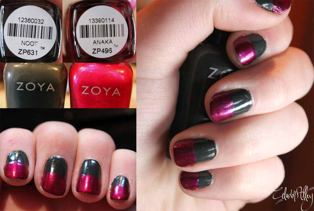 zoya nail polish noot and anaka