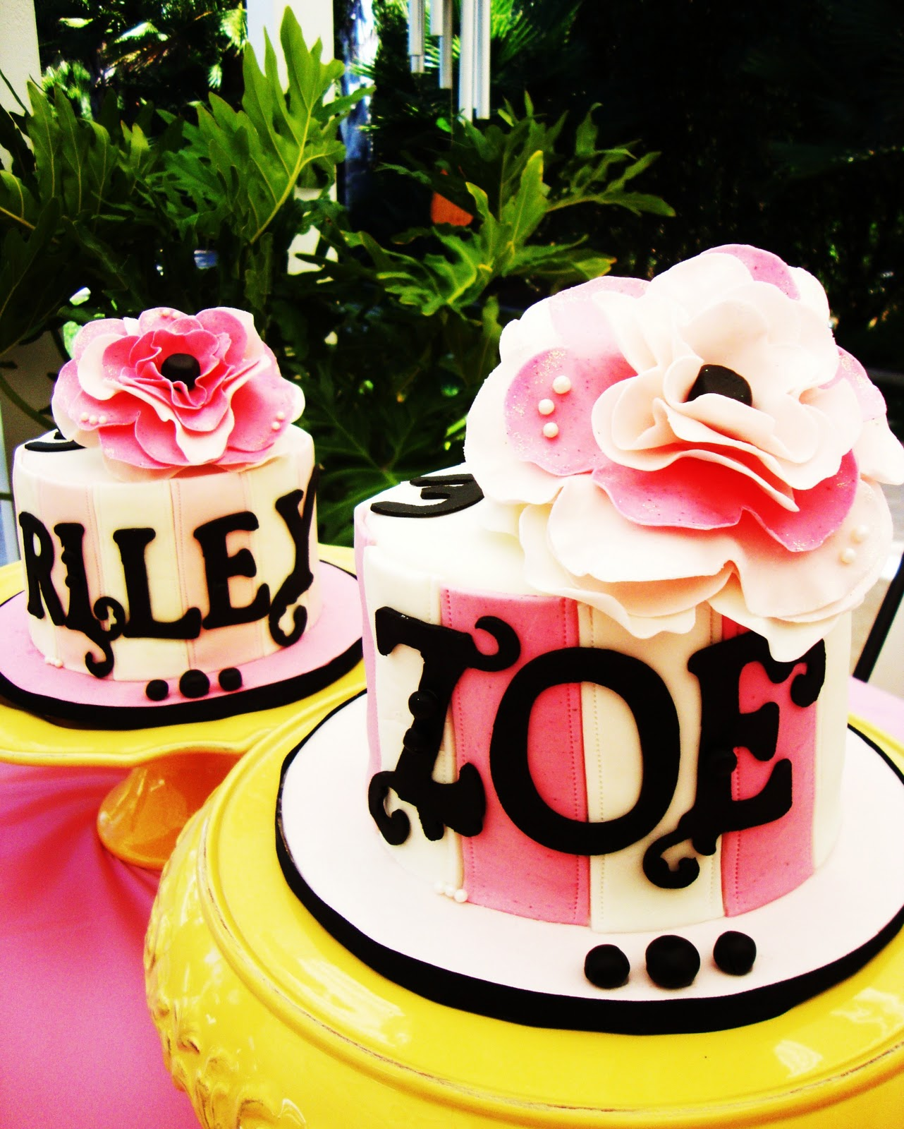 Cake Obsessions Riley Zoe Are 3