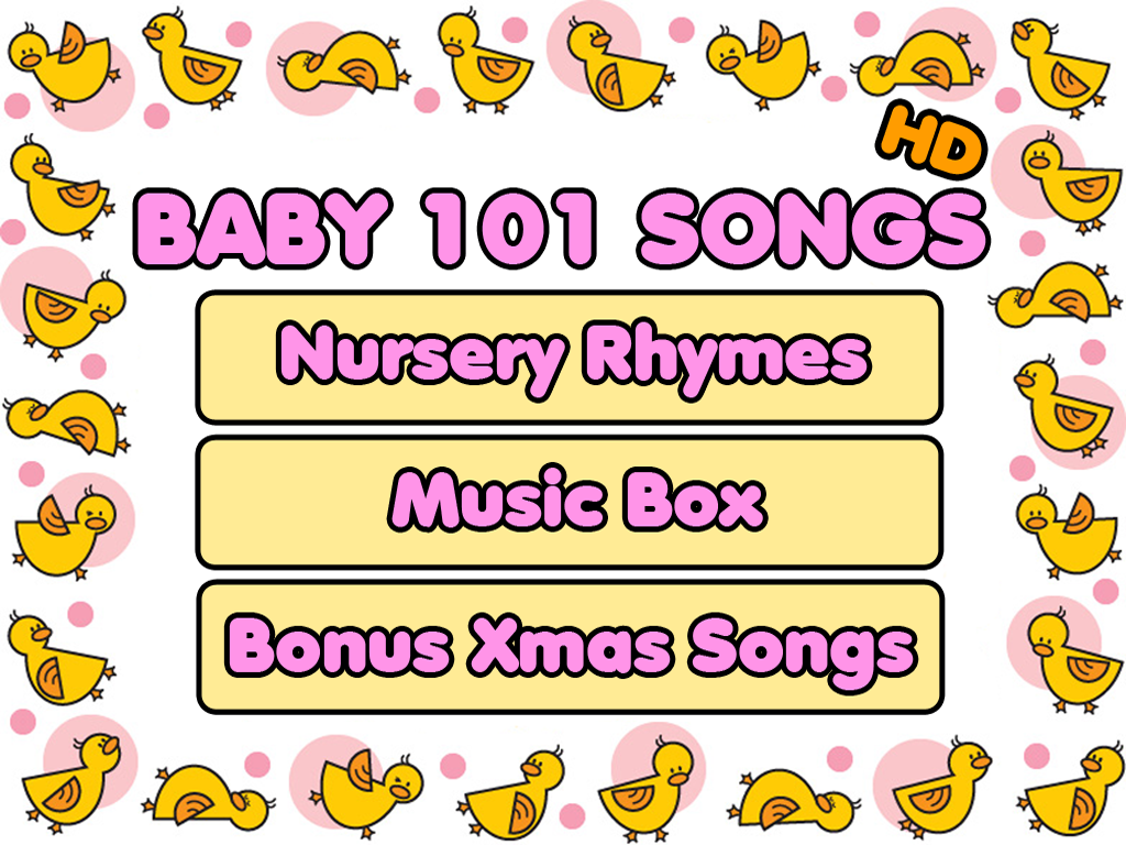 Baby 101 Songs iPad screenshots