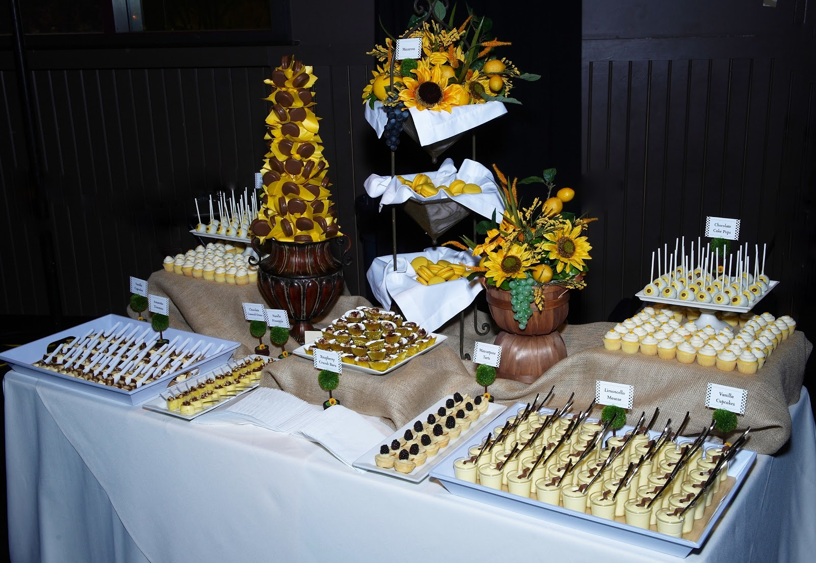 A Party Style Dessert Tables