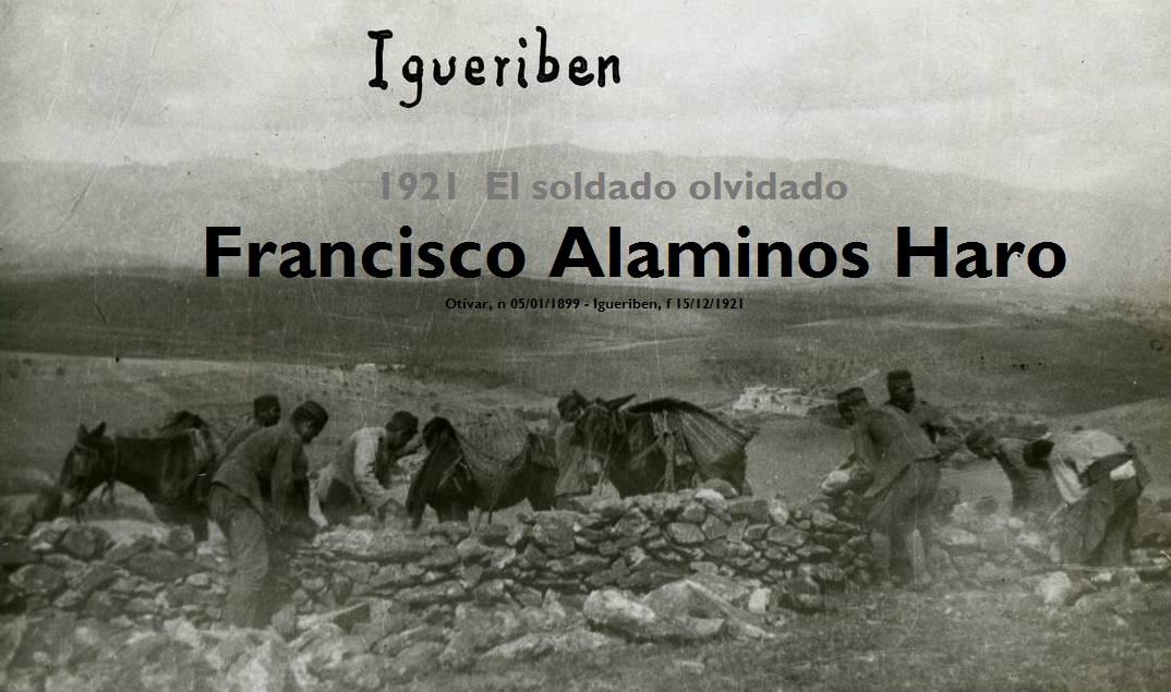 1921 - El soldado olvidado - Francisco Alaminos Haro
