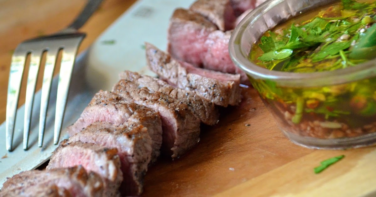 Obsessive Cooking : Tri Tip Steak with Chimichurri