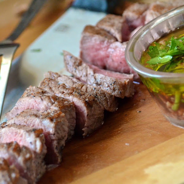 Tri Tip Steak with Chimichurri