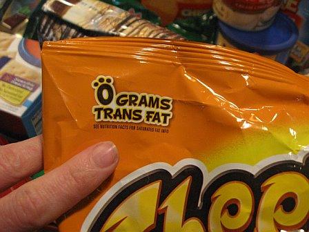 Most Common Trans Fat 102