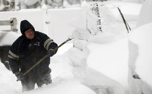 Trabajar removiendo nieve, una gran idea de negocio para invierno