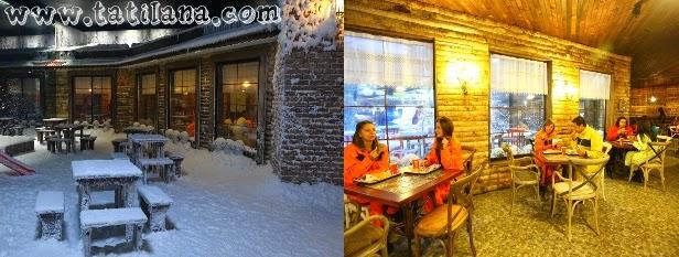 Antalya Akvaryum Snow Cafe