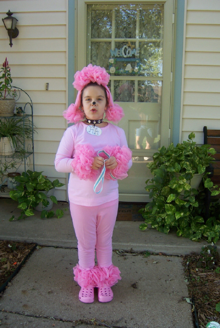 Poodle costume 1.   & Better Budgeting: Homemade Halloween Costumes for Kids: Poodle
