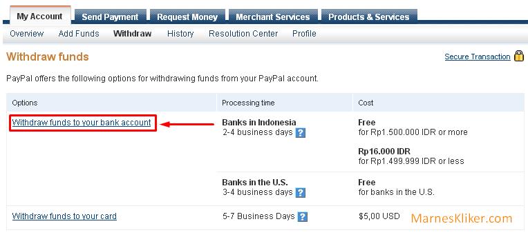 Cara Mudah Mencairkan Saldo Paypal ke Bank Lokal Indonesia