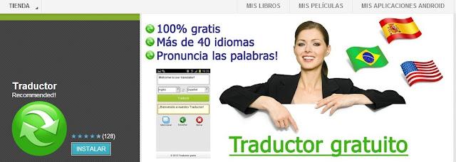 App traductor móvil y tablet