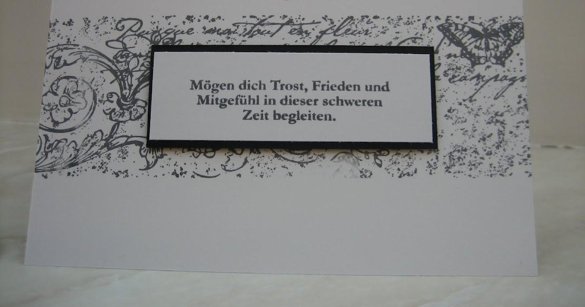Ingeborgs-Bastelecke: Trost in der Trauer