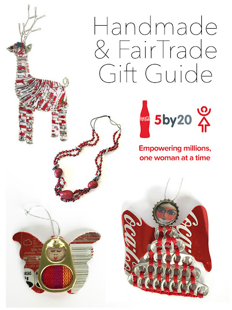 Handmade and Fair Trade gifts to purchase for the holidays, Artisan gifts made out of recycled Coca-Cola materials