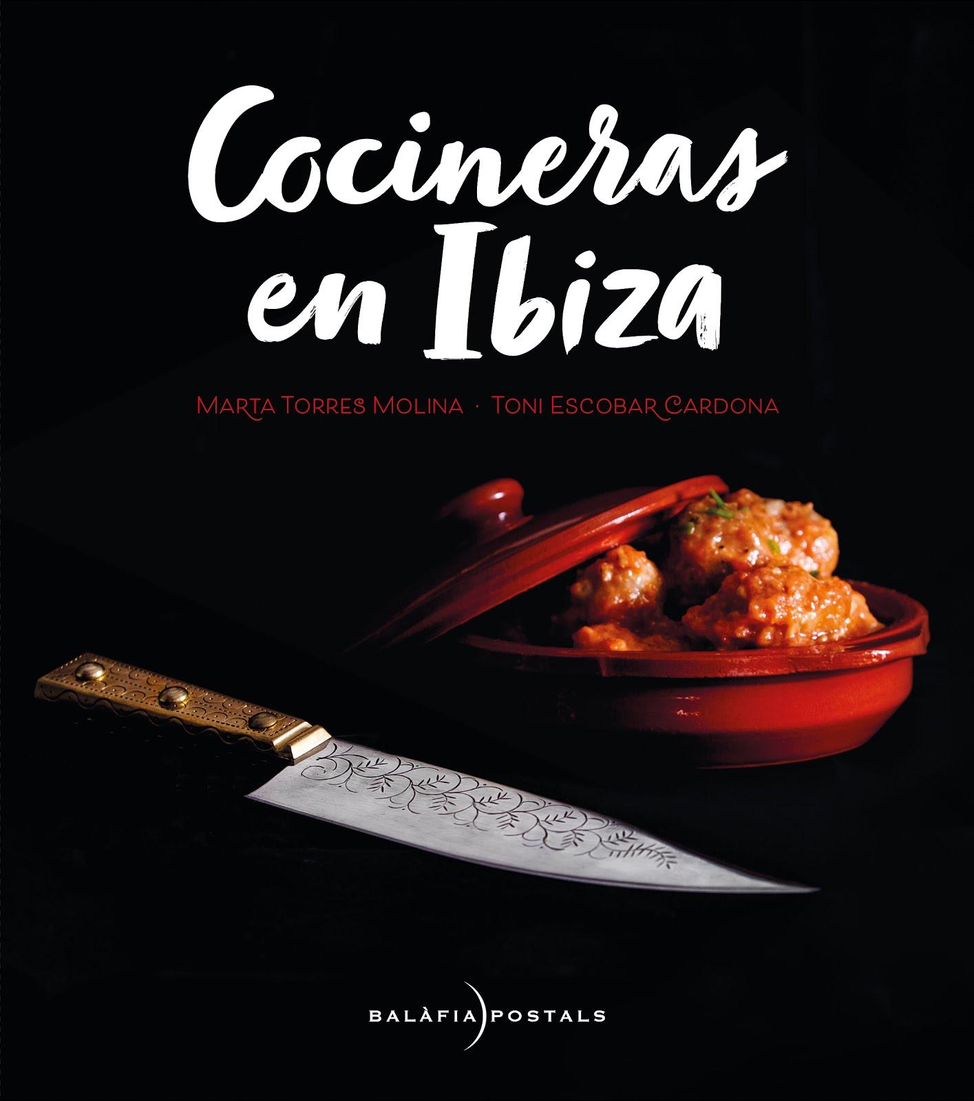 Mi libro: Cocineras en Ibiza