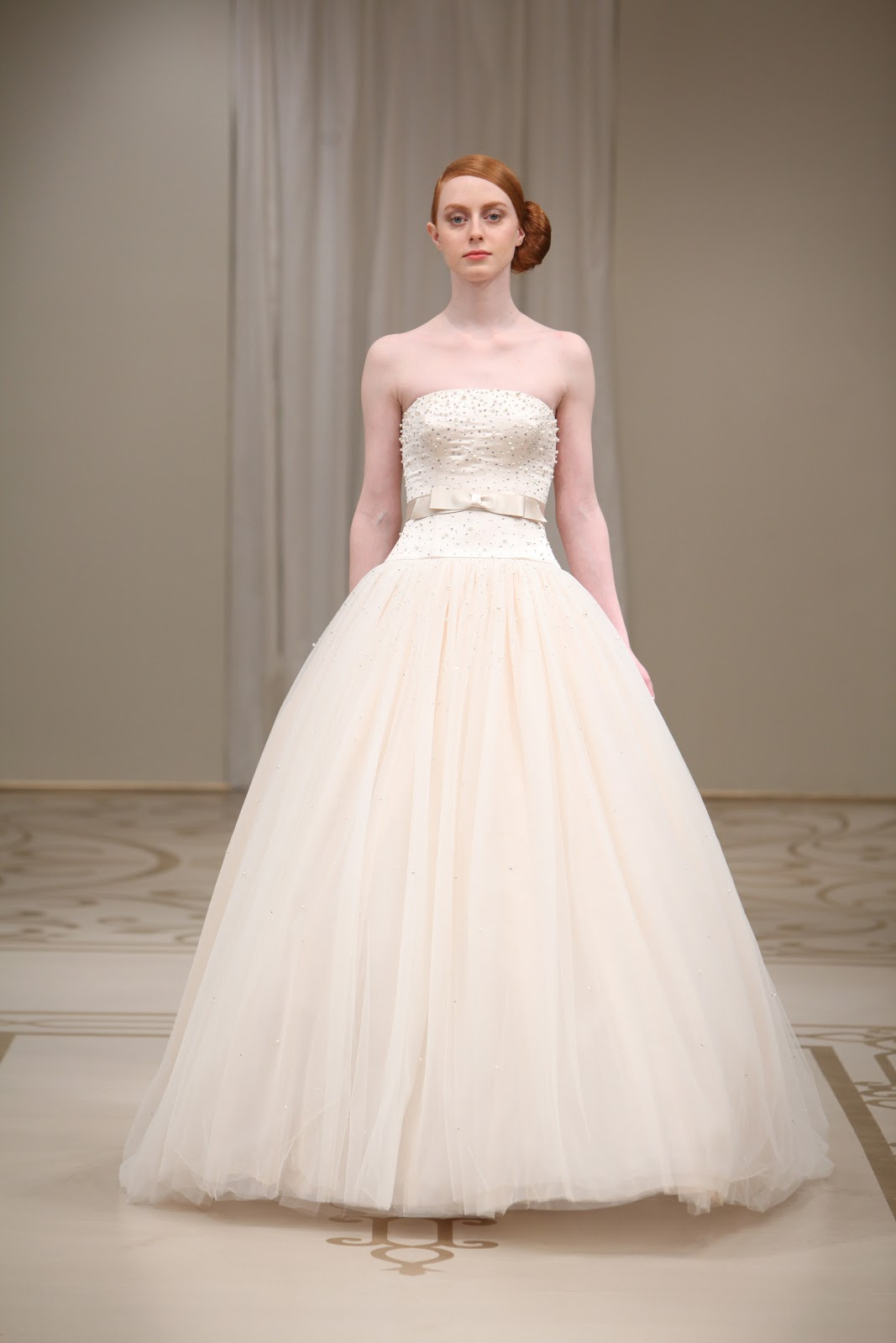reem acra tulle wedding dress reem acra silk organza wedding dress