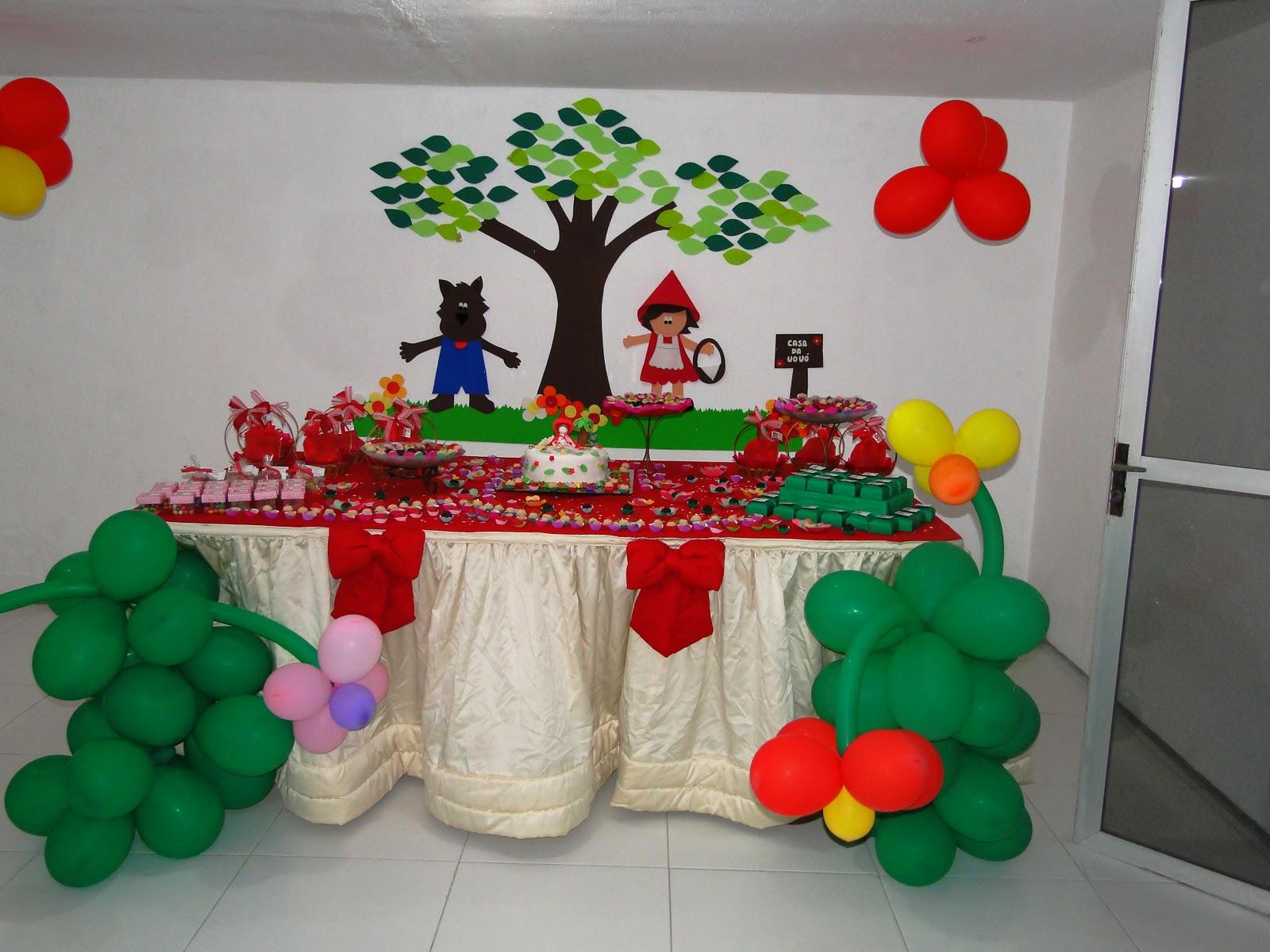 Ideias Para A Festa De Anivers  Rio  Chapeuzinho Vermelho
