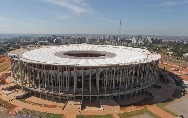 Estádio mais bonito da Copa no Brasil será o Nacional de Brasília
