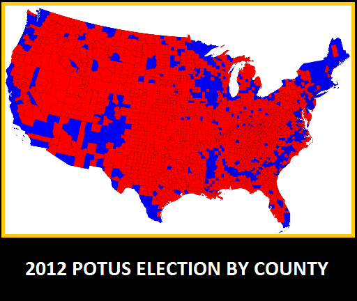 THE ASTUTE BLOGGERS HERE39S A MAP SHOWING WHERE THE DEMOCRATS COMMIT THE