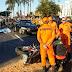 ACIDENTE ENTRE TRÊS VEÍCULOS MATA POLICIAL MILITAR EM TAGUATINGA
