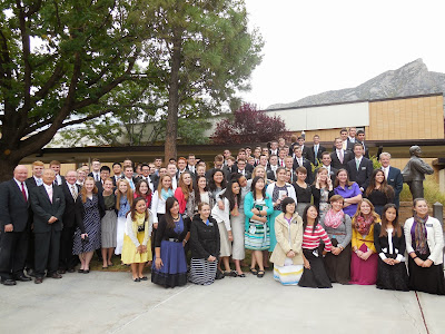 My zone (all the Korean-speaking missionaries) and our branch presidency