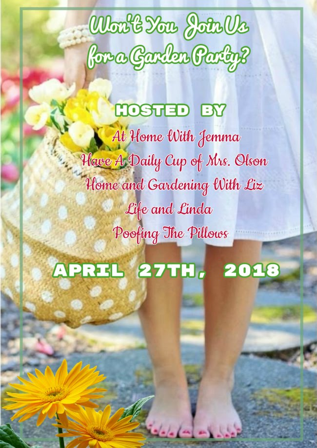 Join us for a Garden Party on April 27th.